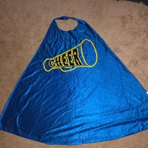 Six Flags Cheerleading Cape